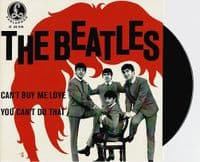 THE BEATLES Can't Buy Me Love Vinyl Record 7 Inch Parlophon 2019